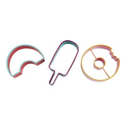 NEW Sunnylife Stainless Steel Cookie Cutters - Sweet Tooth