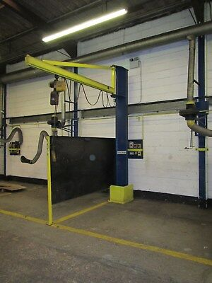 Swing/jib Crane 250Kg Capacity. 3M Swing Arm Complete With Demag Electric Hoist.