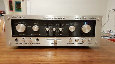 Marantz 1070 console Stereo Amplifier can used as Pre amplifier