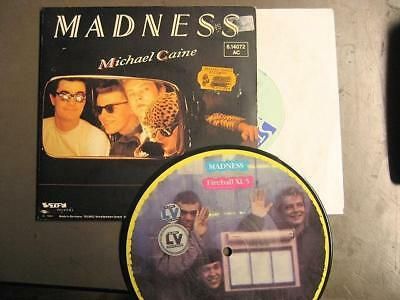 "Madness ""michael Caine"" - 7"" Single + Picture Single"