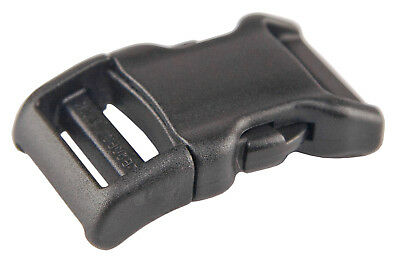100 - 3/4 Inch YKK Contoured Side Release Plastic Buckles
