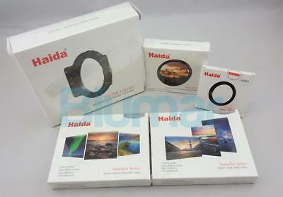 Haida 75 Filter Kit ND+GND+CPL+holder+ adapter ring for Micro Four Thirds camera