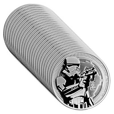 1 oz Silver Stormtrooper Star Wars Coin - Lot of 25