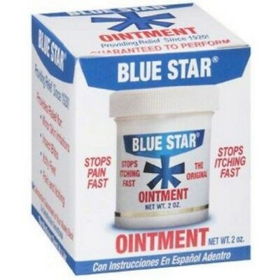 Blue Star Original Ointment w/ Soothing Aloe Anti-Itch Relief 2 oz