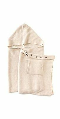 Coco & Carmen Hooded Hillcrest Ivory Scarf 142197L
