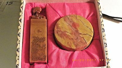 Old Chinese Antique Agate Seals/Stamp Asian China