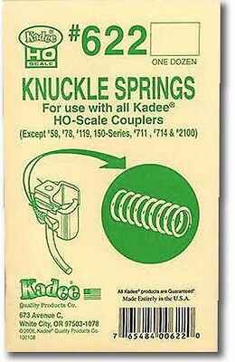 Kadee #622 Knuckle Spring for Standard Head couplers (HO)