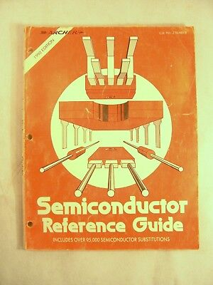 Radio Shack Semiconductor Reference Guide 1990 Ed 276-4013 Book #94
