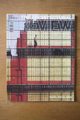 ARCHITECTURAL REVIEW Sept 97 France Special RENZO PIANO CLAUDIO SILVESTRIN