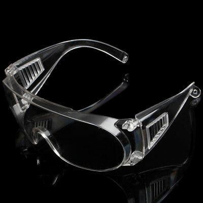 High Vented Safety Goggles Glasses Eye Protection Protective Lab Anti Fog Clear
