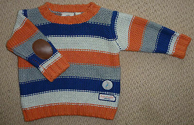 NWT Peter Rabbit Licensed Boys Striped Knit Jumper Size 000 or 00 or 1