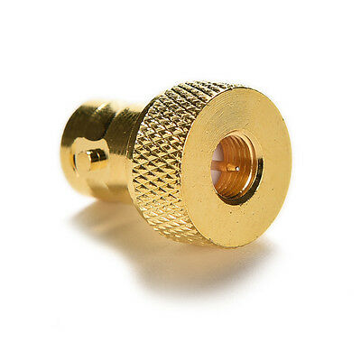 BNC female jack to SMA male plug RF connector straight gold plating Adapter HUCA