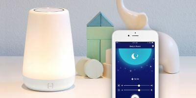 Hatch Baby Rest Soothing Sound Machine with LED Night Light Smartphone Bluetooth