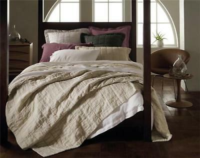 Sheridan Abbotson 100% Linen King Quilted Bedcover
