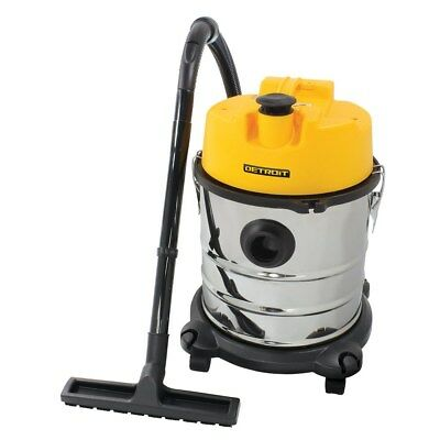 New Detroit 1200W 20L Wet/Dry Stainless Steel Vacuum
