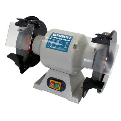 New Saber 750W 200x25mm Bench Grinder