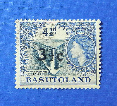 1961 BASUTOLAND 3 1/2c SCOTT# 65 S.G.# 62 USED                           CS20200
