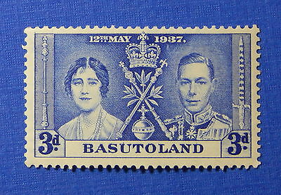 1937 BASUTOLAND 3d SCOTT# 17 S.G.# 17 UNUSED                             CS20017