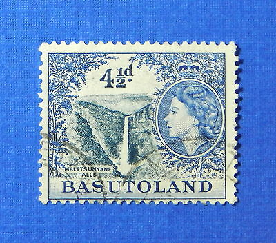 1954 BASUTOLAND 4 1/2d SCOTT# 50 S.G.# 47 USED                           CS20164