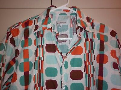 Yoshi Jones Cotton Ls Shirt Size Small Excellent Condition