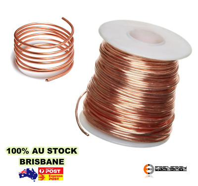 100gm (1mm) 19SWG Enamel Copper Magnet Winding Wires - 12M approx. length