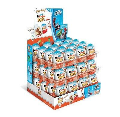 Chocolate Kinder Joy for Boys  with Surprise Inside 48 Pack- Ships from USA