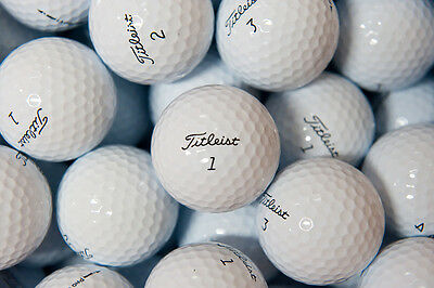 50 Titleist Pro V1 Near Mint & AAA Strandard Grade Refinished Golf Balls