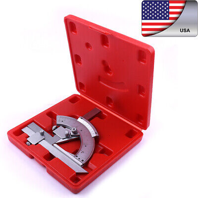 320 Degree Universal Bevel Protractor Angle Finder Ruler Gauge Tool -US Stock