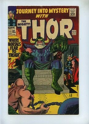 Journey Into Mystery #122 - Marvel 1965 - VG - Pence - Thor