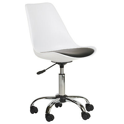 Hartleys Adjustable Swivel Computer Office Desk Chair For Home/work Modern/seat