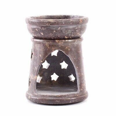 Mini Star Soapstone Oil Burner (ACCOILBURNSOAPSTAR)