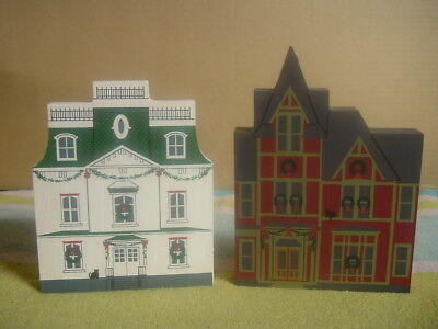 THE CATS' MEOW Hometown Christmas Series-August Imgard House & Overholt House 92
