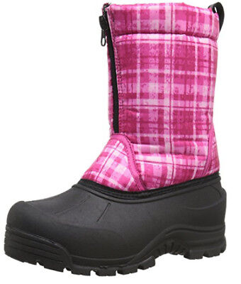 Northside Girls Icicle Cold Weather Winter Boot Fuchsia Silver Toddler Size 10