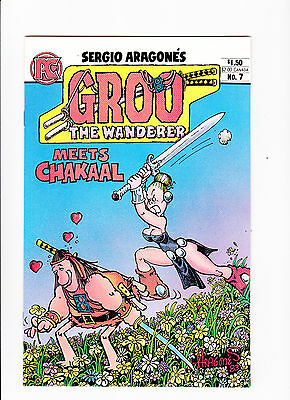 Groo The Wanderer   Vol.2 No.7  :: 1984 ::   :: Meets Chakaal ::