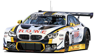 BMW M6 GT3 2016 Spa 24 Hours Winner 1:24 Model Kit Bausatz Platz nunu PN24001