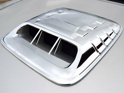 Toyota Hilux 05 - 11  Chrome Trim Hood Scoop Cover
