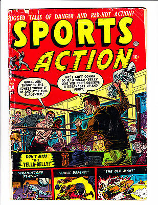 Sports Action   No.10    : 1951 :    : Boxing Cover! :