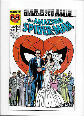 Amazing Spider-Man #21  [1987 Nm-]  Special Wedding Issue!  Giant-Sized Annual