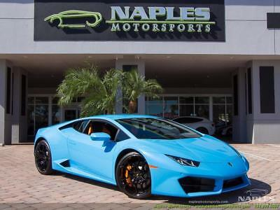 2017 Lamborghini Huracan LP 580-2 2017 Lamborghini Huracan LP 580-2  2-Door Coupe