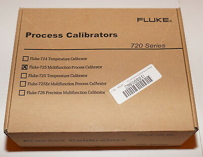 Fluke 725 Multifunction Process Loop Calibrator Mv Ma Volt 11/16 New