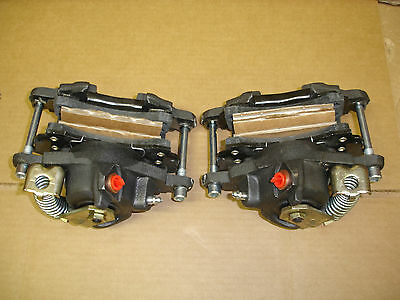 Rear disc brake conversion calipers 7 inch pin spread large gm rear calipers