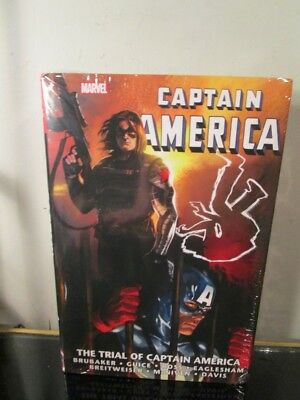 The Trial of Captain America Marvel Comics Omnibus Brand New Factory Sealed~