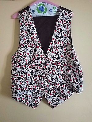 MICKEY & CO Vintage Vest M/L With Mickey Mouse Design