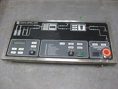 System Chemistry Inc modular dispense system control panel 99-85004-01 99-85016