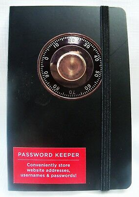 Password Keeper - 160 pages - Elastic closure
