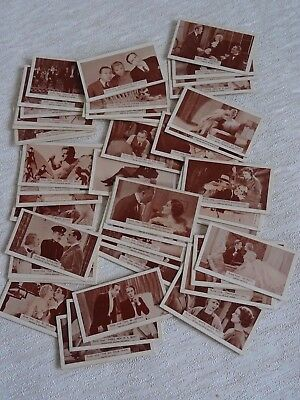 48 x Vintage State Express Cigarettes Card Collection - Scenes from Big Films