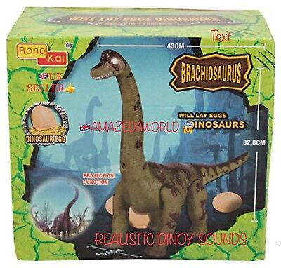 Brand new Battery Operated Dinosaur 🦕 lays egg Toy Roaring sound and walk gift
