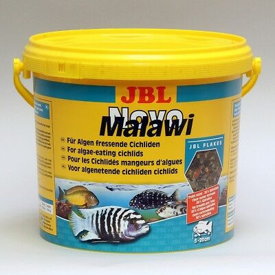 JBL NovoMalawi (Novo Malawi) Flake Fish Food 5.5L - @ BARGAIN PRICE!!!