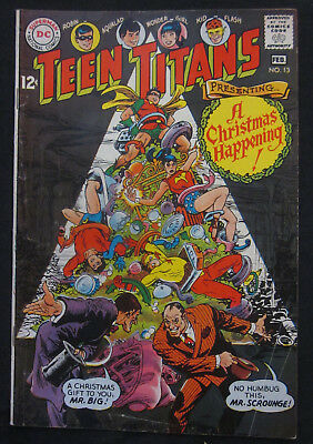 TEEN TITANS #13 1st Series 1968 DC Comics VG/FN 5.0 ROBIN Wonder Girl CHRISTMAS