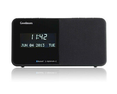 Goodmans GCR1888DABBT DAB Digital Bluetooth Alarm Clock Radio